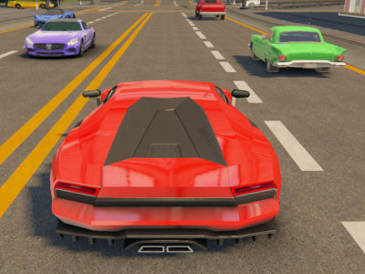 Traffic Car Racing online game