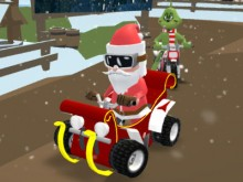 Santa's Rush: The Grinch Chase online hra