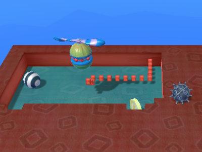 Nova Xonix 3D online game
