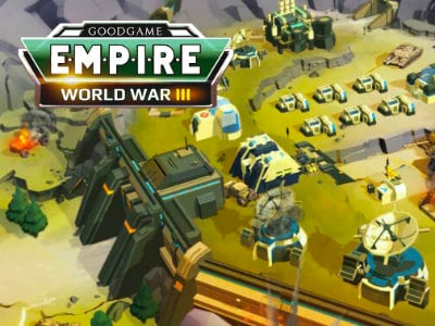 Empire: World War III online game