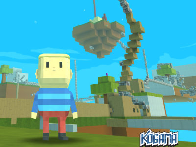 Kogama: Minecraft Sky Land online game