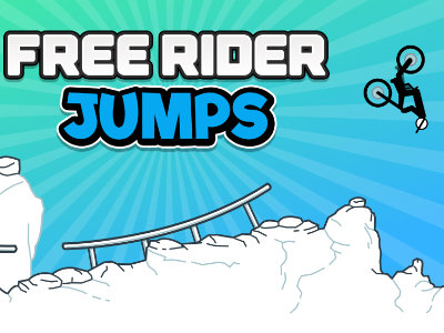 Free Rider Jumps online game