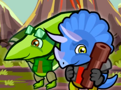 Dino Squad Adventure 3 online game