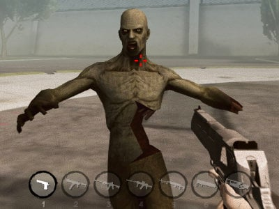 Mad Zombies Town Sandbox online game