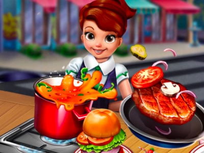 Cooking Fast: Hotdogs And Burgers Craze online game