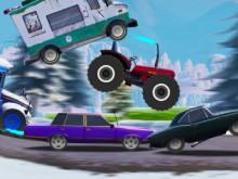 Uphill Climb Racing 3 juego en línea