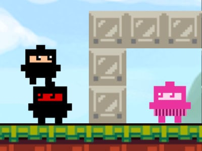 Ninja Cube online hra