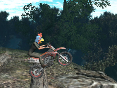 Bike Trial Xtreme Forest online hra