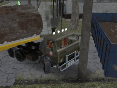 Russian Kamaz Truck Driver online game
