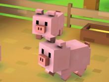 Blocky Farm online hra