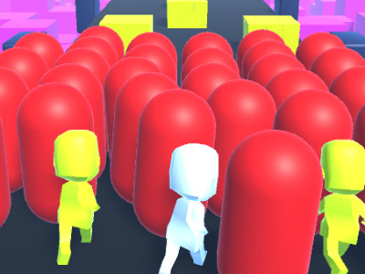 Human Runner 3D online game