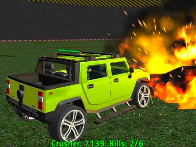 Crazy Demolition Derby V1 online hra