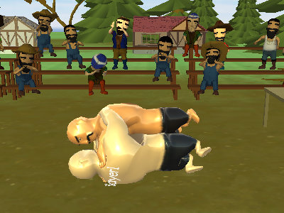 Oil Wrestling online game