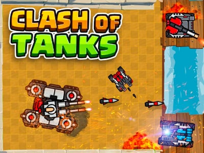 Clash of Tanks online game