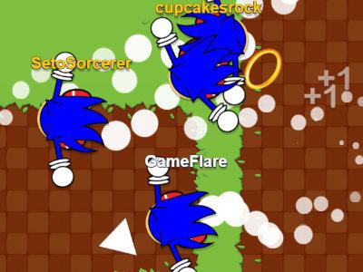 Sonic.io online hra