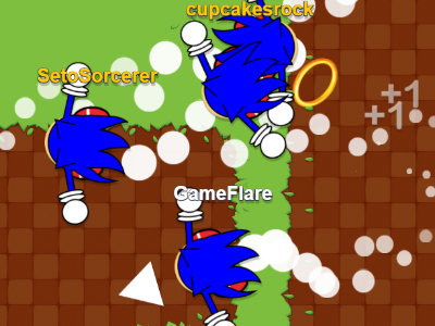 Sonic.io oнлайн-игра