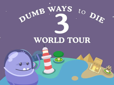 Dumb Ways to Die 3: World Tour online game