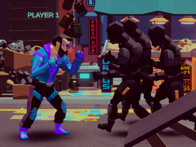 Cyber Rage: Retribution oнлайн-игра