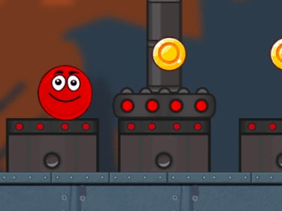 Ball Hero Adventure: Red Bounce Ball oнлайн-игра