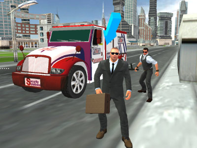 Cash Transport Simulator online hra