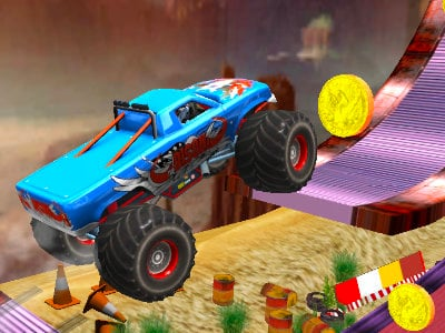 Xtreme Monster Truck online game