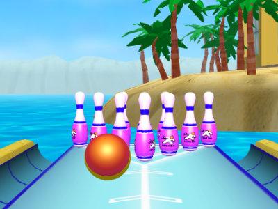 Beach Bowling 3D oнлайн-игра