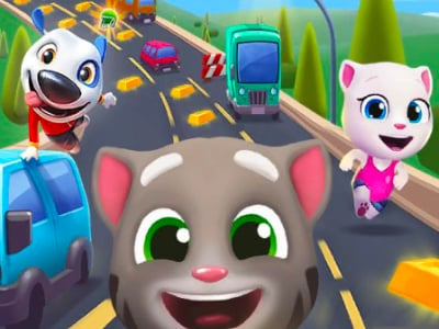 Talking Tom Gold Run oнлайн-игра