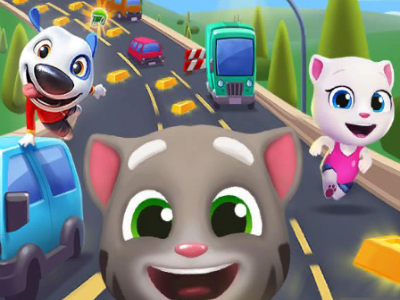 Talking Tom Gold Run online game