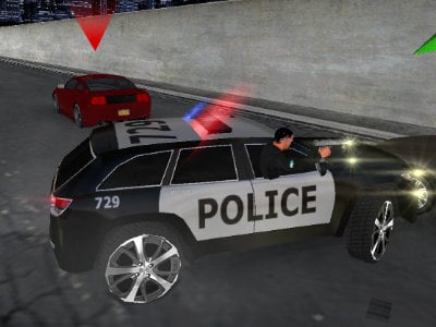 Police Chase Simulator online game