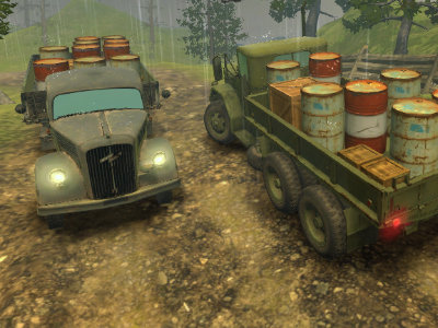 Off-Road Rain: Cargo Simulator online game