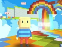Kogama: Rainbow Parkour online game