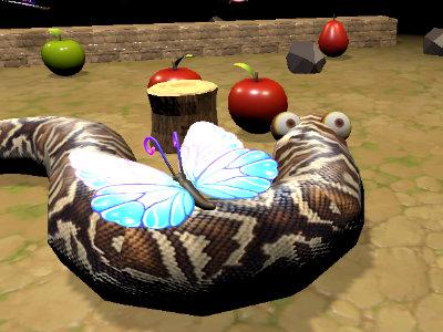 Nova Snake 3D online hra