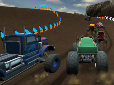 Monster Offroad Trials online hra