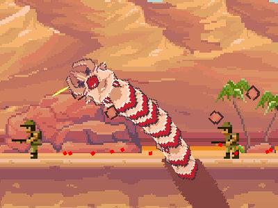 Deep Worm online hra