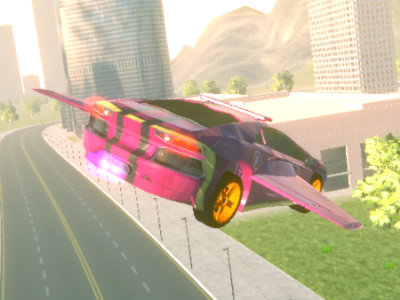 Flying Car Simulator online hra