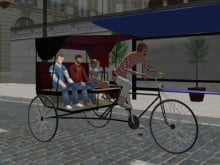Rickshaw Driving online game