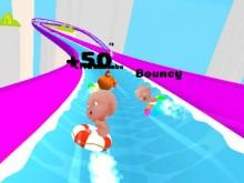 Slippery Water Slides online hra