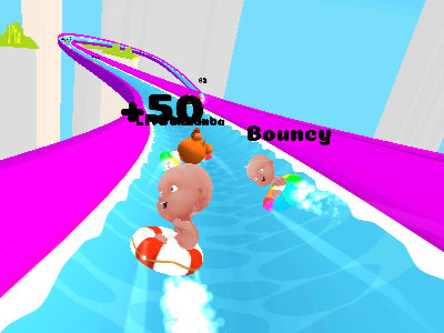 Slippery Water Slides online hra