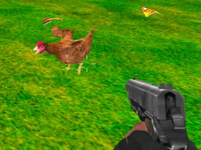 Chicken Shooter online hra