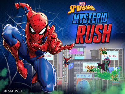 Spider Man: Mysterio Rush online game