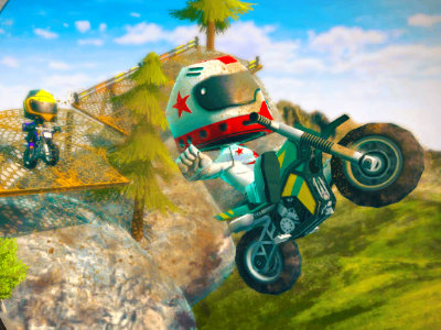 Moto Trial Racing 2: Two Player online game