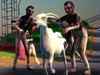 Goat vs Zombies online game