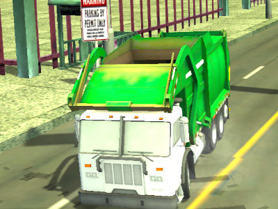 Real Garbage Truck online game