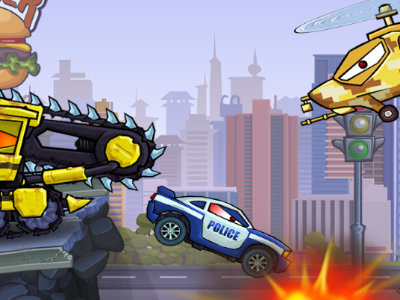 Car Eats Car: Evil Cars online hra