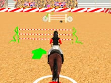 Horse Jumping Show online hra