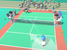 Mini Tennis 3D online hra