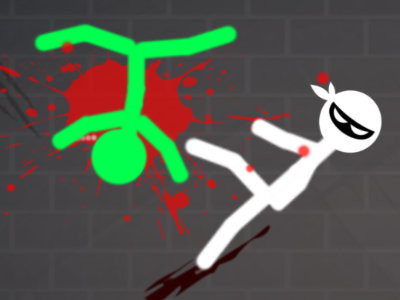 Stickman Warriors: Fatality online hra