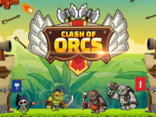 Clash of Orcs online game