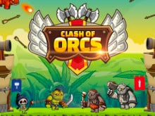 Clash of Orcs online hra
