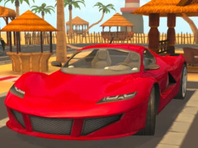 Parking Fury 3D: Beach City online hra